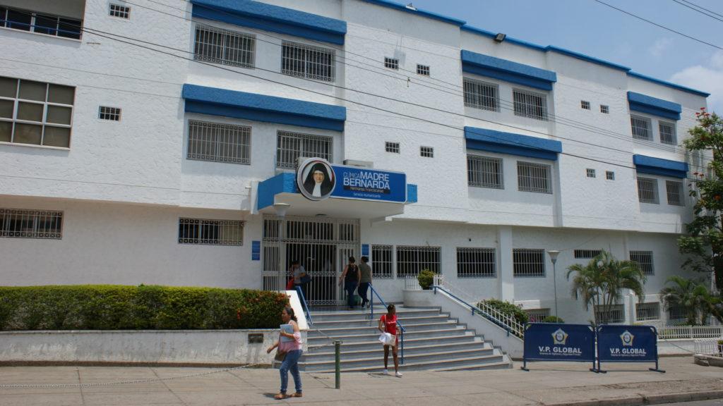 Aussenaufnahme von der Klinik Madre Bernarda in Cartagena | zVg