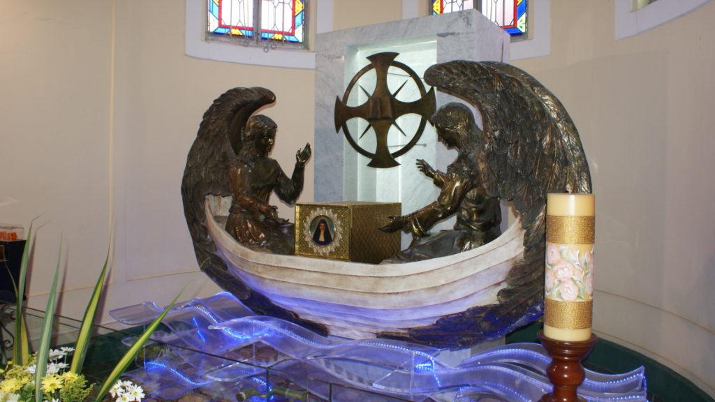 Grabstätte in der Kirche im Collegio Biffi in Cartagena | zVg