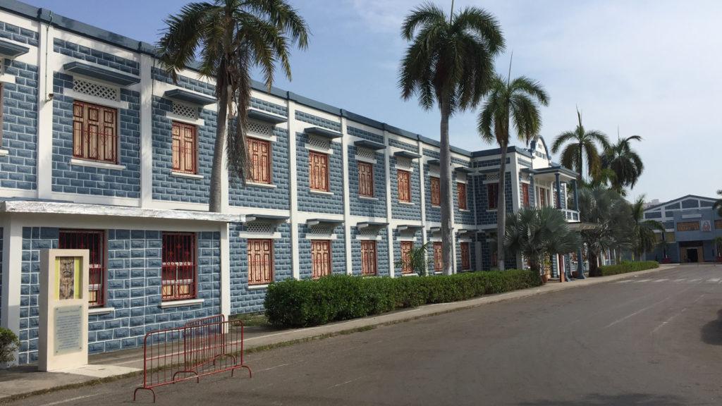 Aussenaufnahme des Collegio Biffi in Cartagena | zVg