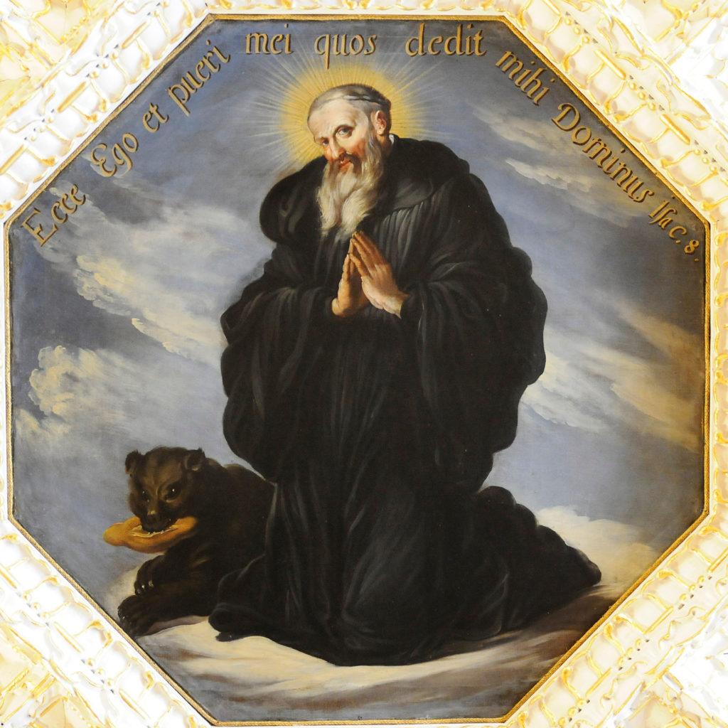 Gallus mit dem Bär | Bistum St. Gallen