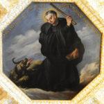 Notker mit dem teuflischen Hund | © Bistum St. Gallen
