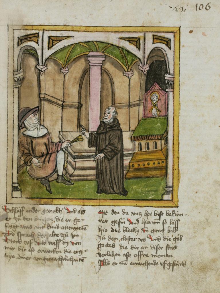 Otmar | © St. Gallen, Stiftsbibliothek, Cod. Sang. 602, S. 522