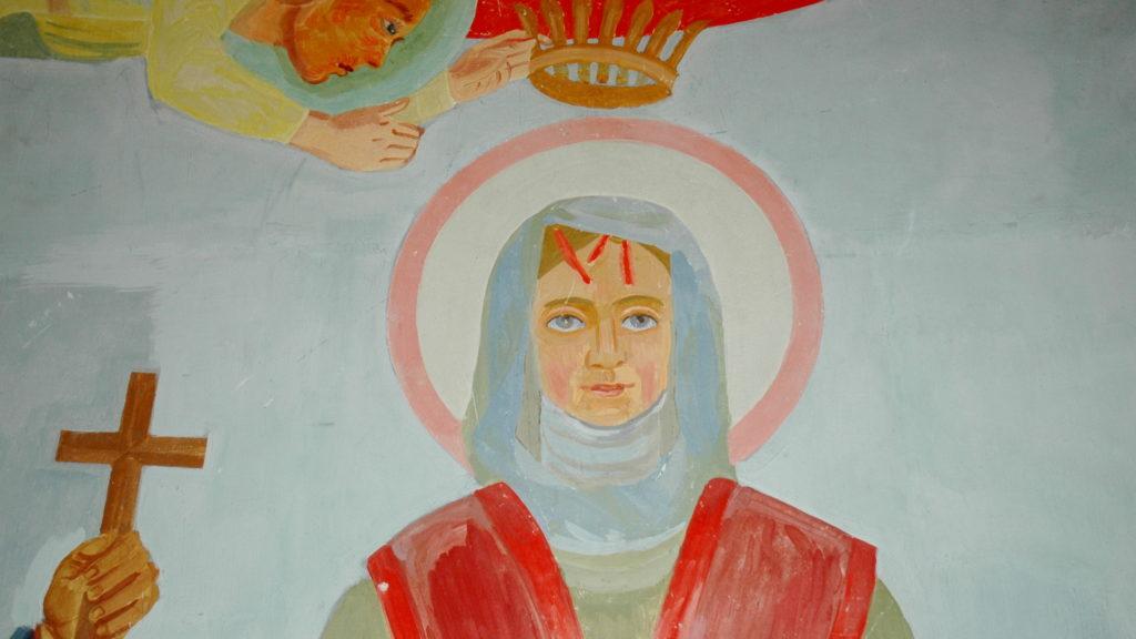 Wiborada von Ferdinand Gehr in der Kapelle St.Georgen | © Bistum St. Gallen