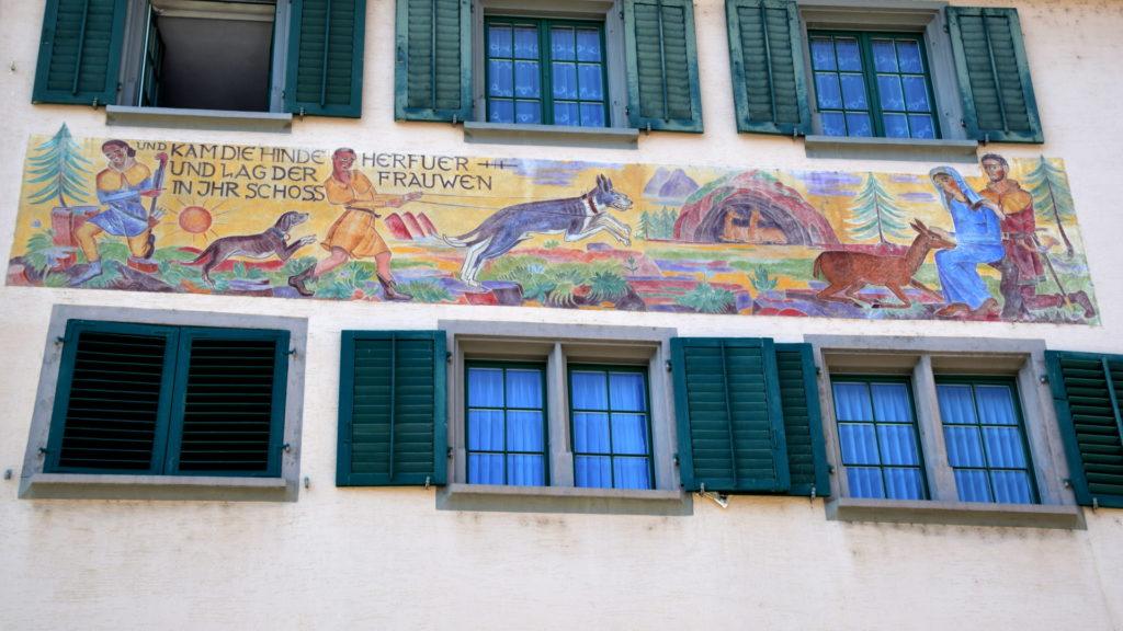 überall schöne Fassaden