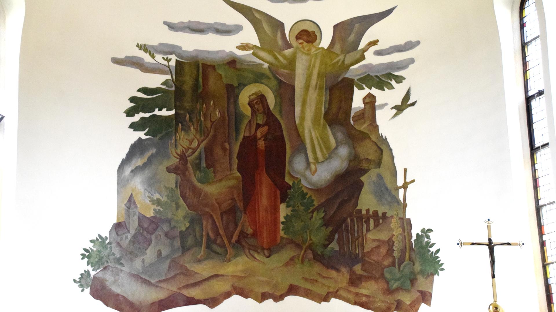 Heilige Idda, Altarbild | © Barbara Fleischmann