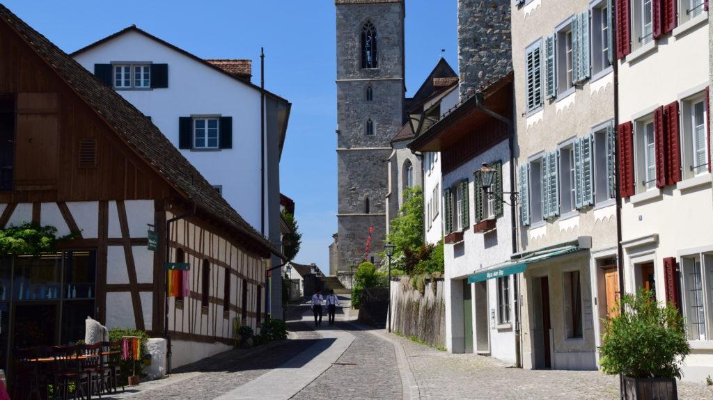 Aufgang zur Kirche und zum Schloss