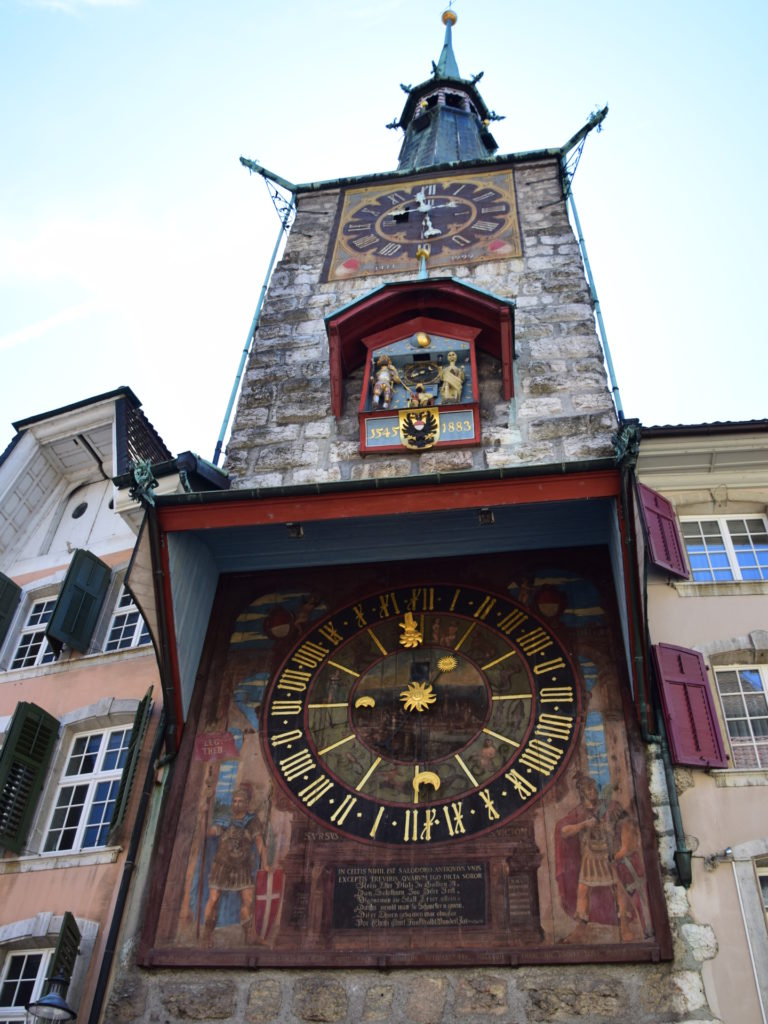 Der rote Turm, ebenfalls mit Urs und Viktor