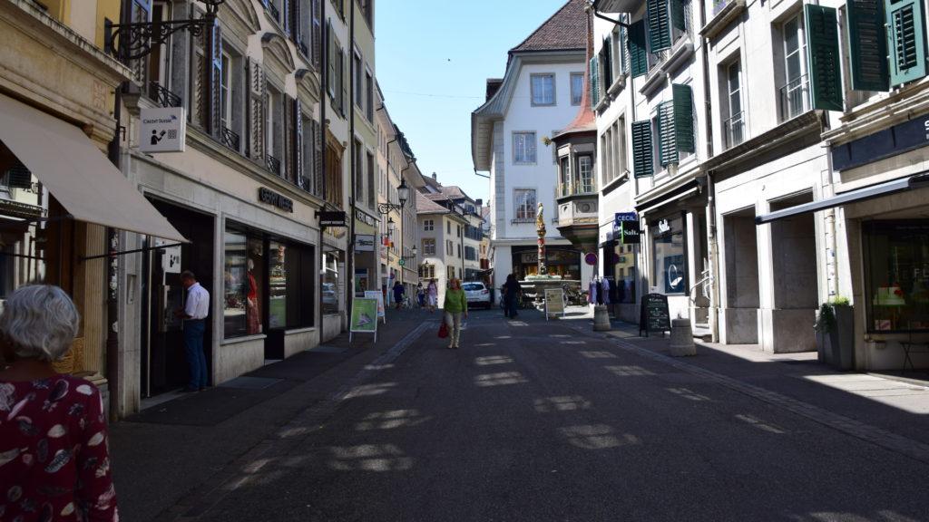 in den Gassen von Solothurn