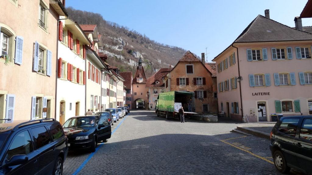 Hauptstrasse von St. Ursanne