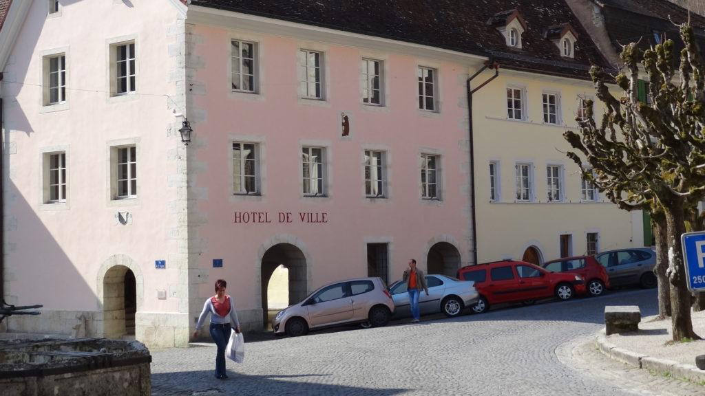 Stadthaus St. Ursanne