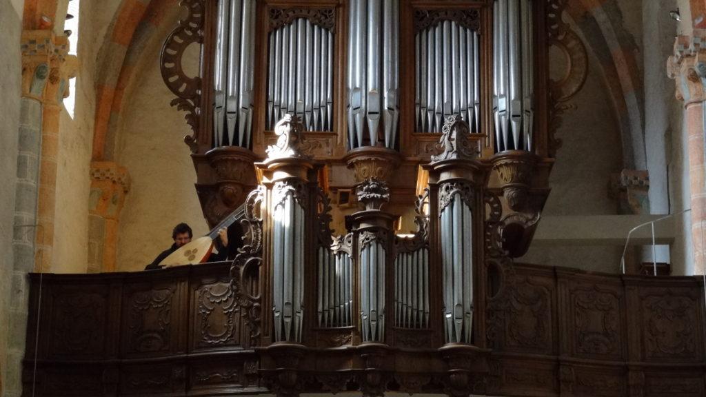 Orgel in der Stiftskirche St. Ursanne