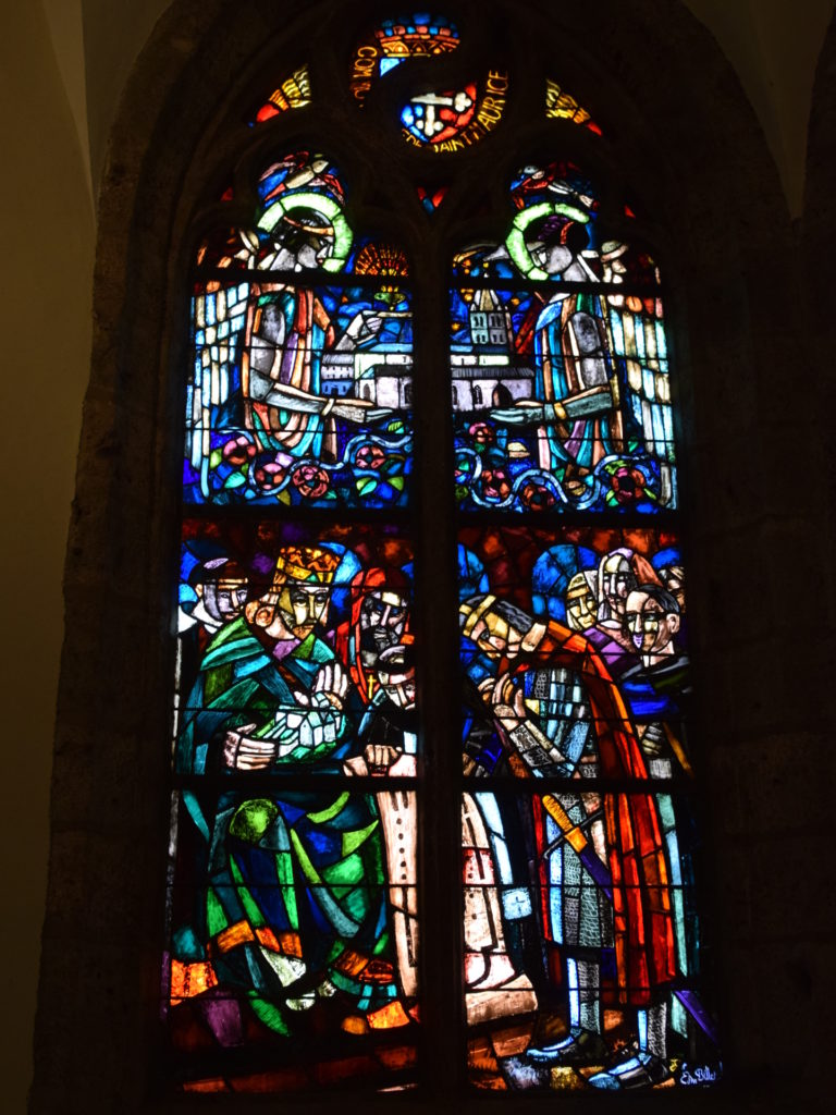 Fenster in der Märtyrerkapelle