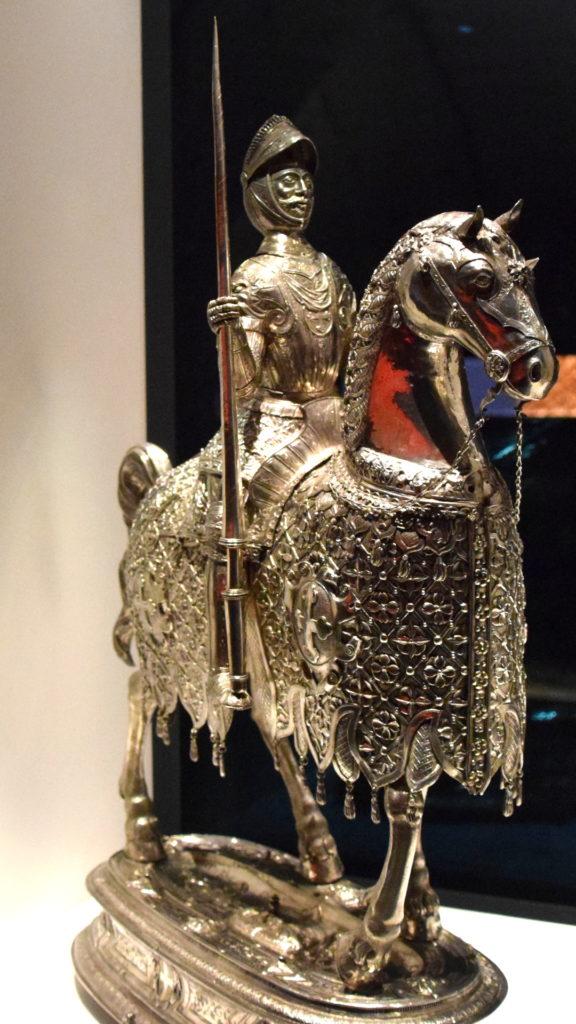 Heiliger Maurice auf dem Pferd