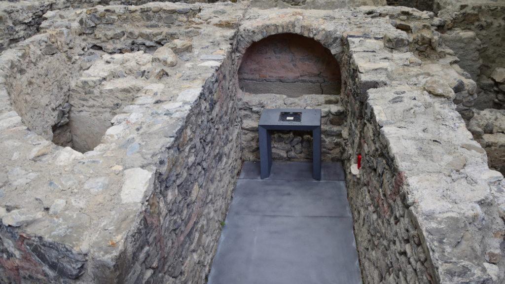 Grab des Heiligen Maurice - oft besuchte Pilgerstätte