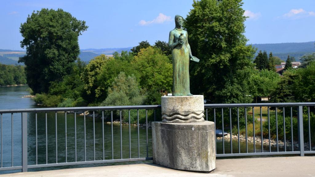 Heilige Verena, auf der Rheinbrücke in Bad Zurzach
