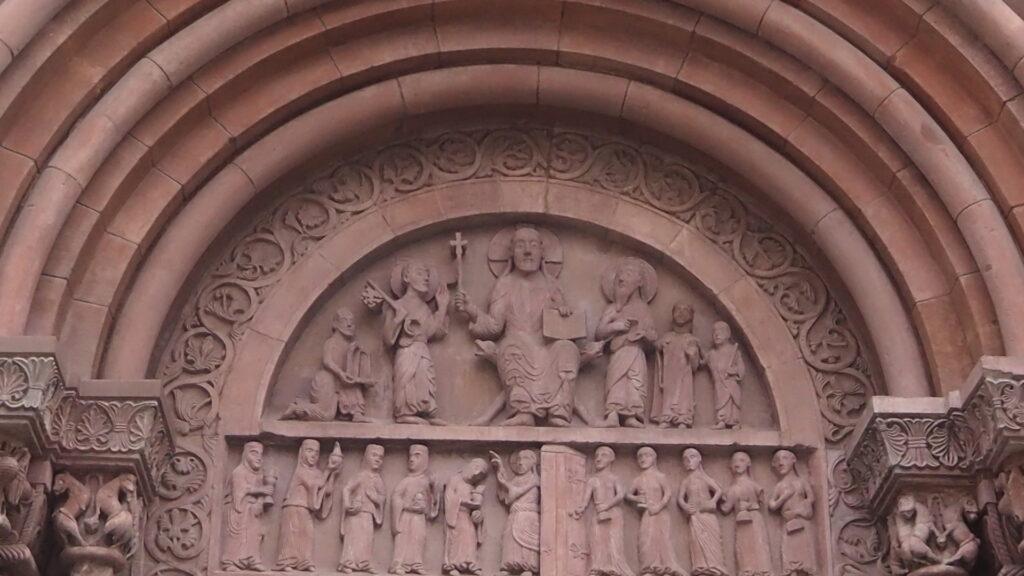Detail Fassade Basler Münster